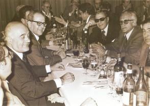 Cena di pensionamento a Riva degli Etruschi.