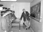 Scuola Tecnica Enrico Rocca. Lezione. Anni '60