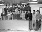 Scuola Tecnica Enrico Rocca. Allievi. 1966