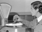 Scuola Tecnica Enrico Rocca. Fiera della scienza, allievo. Anni '60