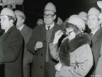 Delegazione sovietica e Ministro Tulin in visita.